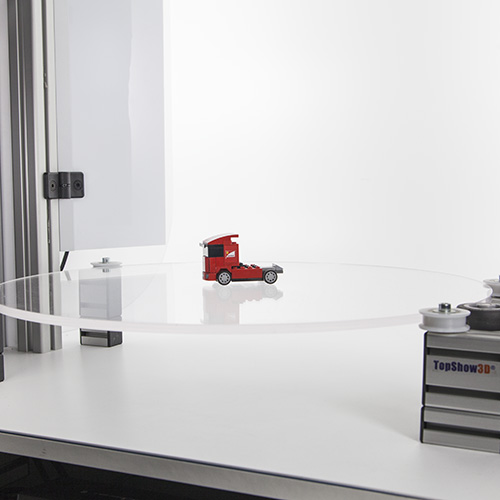 TRANSPARENT TURNTABLE